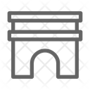 Monument Architecture Temple Icon