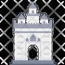 Monument Gate Building Icon