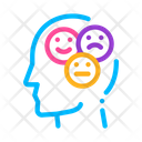 Different Mood Smile Icon