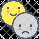 Sad Happy Smile Icon