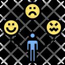 Moody Character Attitude Icon