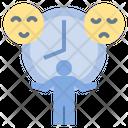 Moody Bipolar Emotional Icon