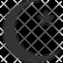 Moon Islamic Sign Religion Sign Icon