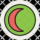 Moon New Crescent Icon