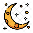 Moon Half Moon Halloween Moon Icon