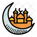 Crescent Mosque Islam Icon