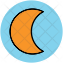 Moon Satellite Lunation Icon