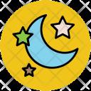 Moon Stars Night Icon
