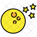 Moon Star Moon And Stars Icon