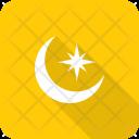 Moon Star Crescent Icon