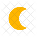 Moonlight Crescent Night Icon