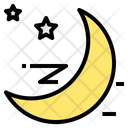 Moon Sky Sleep Icon