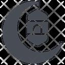 Crescent Moon Sleep Icon
