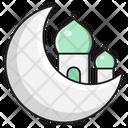 Moon Mosque Eid Icon