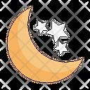 Moon Star Ramadan Icon
