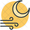 Moon Winds Air Icon