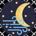 Moon Crescent Night Icon