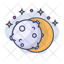 Moon Sun Eclipse Icon