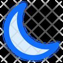 Moon Night Crescent Icon