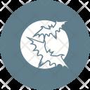 Moon Bat Scary Icon
