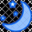 Weather Moon Night Icon