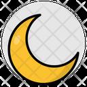 Moon Crescent Half Moon Icon
