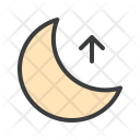 Moon Night Rise Icon