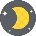 Moon Phase Nature Icon