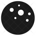 Moon Planet Craters Icon