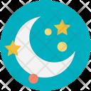 Moon Night Dark Icon