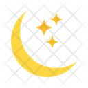 Moon And Star Star Moon Icon