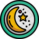 Moon And Star Moon Star Icon