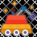 Lunar Rover Lunar Vehicle Moon Rover Icon