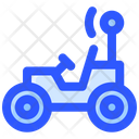 Moon Car Space Icon