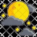 Moon Cloud Icon