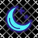 Moon Cross Icon