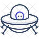 Space Capsule Moon Lander Astronomy Icon