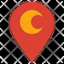 Moon Location Icon