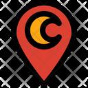 Direction Gps Islam Icon