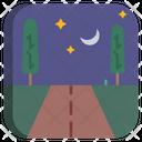 Moon Night Night Half Moon Icon