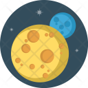 Moon Planet Astrology Icon