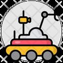 Moon Robot Lunar Rover Lunar Vehicle Icon