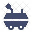 Rover Space Vehicle Icon