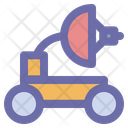 Moon Rover Space Universe Icon