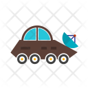Vehicle Moon Rover Icon