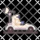 Moon Rover Rover Exploration Icon
