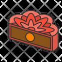 Moon Mooncake Cake Icon