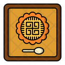 Mooncake Midautumn Festival Icon