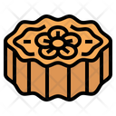Mooncake Traditional Chinese Icon