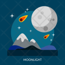Moonlight Space Universe Icon